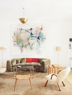 24 Stunning Rooms Without a Stitch of Pattern via @domainehome