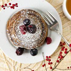 Gingerbread Buckwheat Pancakes
