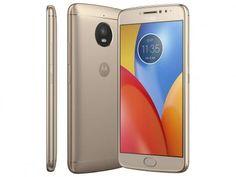 """Smartphone Motorola Moto E4 Plus 16GB Ouro - Dual Chip 4G Câm. 13MP + Selfie 5MP Tela 5.5"""" HD com as melhores condições você encontra no Magazine Raelro. Confira!"""