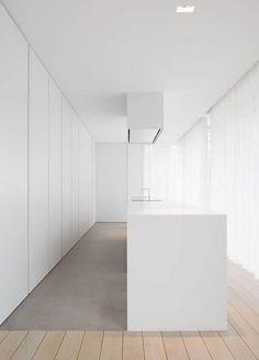 Minimalist House Design, Minimalist Kitchen, Minimalist Interior, Contemporary Interior Design, Modern Kitchen Design, Interior Minimalista, Cuisines Design, Küchen Design, Interiores Design