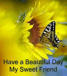 Have a beautiful day my sweet friend friend comment good day greeting beautiful day