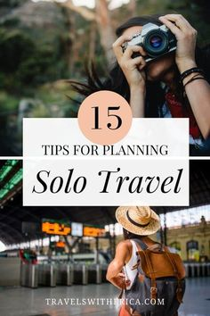 Are you planning a solo trip?! Then this is the guide for you! Click through to learn everything you need to know about planning a solo trip. Even if it is your first time travelling alone! This post covers everything you need to know to plan a solo trip including a number of things to avoid when travelling alone. It is your one-stop guide to everything you need to know about planning a solo trip and travelling alone. Especially if you're a solo female traveller. via @Travels with Erica Solo Travel Tips, Travel Hacks, Travel Guides, Travel Info, Solo Trip, Travel Reviews, Best Places To Travel, Travel Alone, Travel Abroad