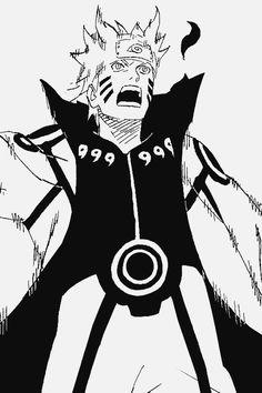 naruto uzumaki - 9 tails jinjuriki ( sage of six paths ) Naruto Uzumaki