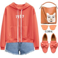 Coral by simona-altobelli on Polyvore featuring мода, BUSCEMI and Loewe