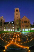 Walk the beautiful lighted 50-foot Labyrinth at St. Paul's United Methodist Church, in Houston's Museum District
