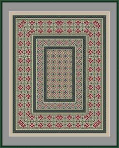 Cross Stitch Embroidery, Embroidery Patterns, Cross Stitch Patterns, Big Rugs, String Art, Fabric Art, Rugs On Carpet, Needlepoint, Hobbies And Crafts