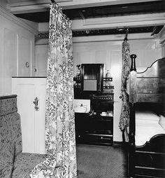 One of the second class rooms ( Bunks) on the Titanic.