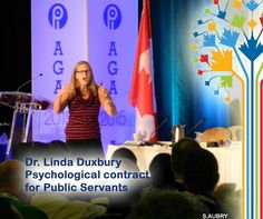 Dr Linda Duxbury at the #PIPSC2015 AGM; 'Shattering the Psychological Contract of the Public Service'