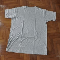 How to upcycle a plain tee | http://micheleng.com/how-to-upcycle-a-plain-tee/