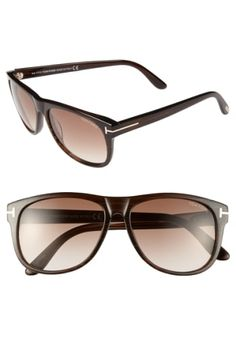 1abd15a865d TOM FORD  OLIVIER  58MM SUNGLASSES - BROWN.  tomford   Sunnies Sunglasses