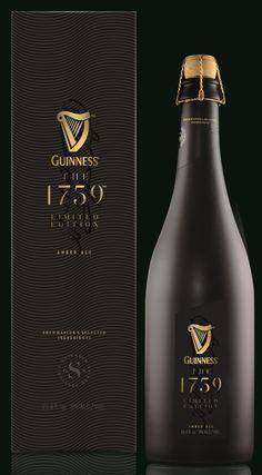 Beer Packaging, Beverages, Drinks, The Prestige, Guinness, Label Design, Whiskey Bottle, Ale, Champagne