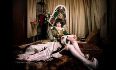 Empress Augusta Vadrica by ~Champagne-meat on deviantART Trinity Blood, Cosplay, Fashion Design, Painting, Inspiration, Champagne, Wings, Deviantart, Costumes