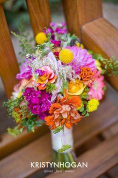 colorful bouquet | Brocade Designs