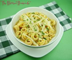Looking for Lent recipes? Here's one for Easy Tortellini Soup that's perfect when it comes to meatless recipes.