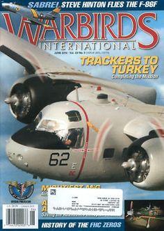 AP WARBIRDS V33 N5 S-2E_A6M5_C-1A VRC_EC-121_MIG-29UB_ETHIOPIA RCN FIREFLY_F-86F