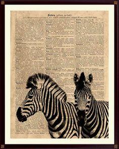 Zebra Print, Zebra Artwork, Zebra Wall Decor, Zebra Nursery, Kids Playroom Decor, Zebra Poster, Zebra Art by DicosLand on Etsy