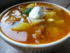 Korhelyleves – Hungarian Drunkard's Soup! | An American in Budapest