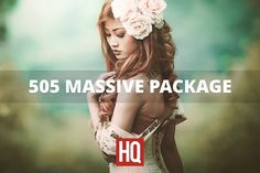 505 MASSIVE PACKAGE by HQ LIGHTROOM PRESETS on @creativemarket