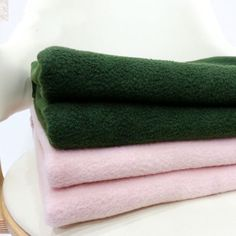 Solid Color Polar Fleece Blanket Army Green and Pink Nap Blanket Polar Fleece Blankets, Fleece Fabric, Army Green, Wool, Fiber, Stuff To Buy, Touch, Pink, Rose