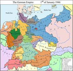 Greater China - The Uighur Triumph by on DeviantArt - ExReFuISOT Germany map by Samuel-Von-Strasburg - Poland History, Imaginary Maps, Geography Map, Medieval World, Country Maps, Mystery Of History, Alternate History, Fantasy Map, Us Map