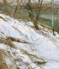 C r e a t i v e W o n d e r: Winter . . . so crisp and so cold and so beautiful . . . Lynn Boggess . Canvas . West Virginia