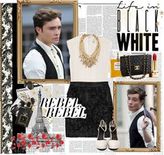 """""""Ed Westwick....Be my Prince Charming♥"""" by alessandra-gerbasi ❤ liked on Polyvore"""