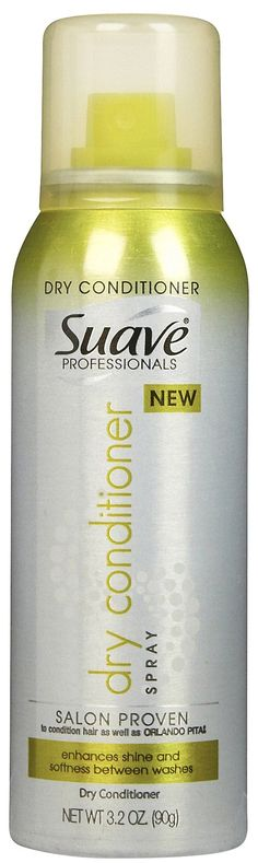 Suave Professionals Dry Conditioner is a lightweight conditioner for adding a natural shine to your hair. Between washes, your hair can get dry and rough. This conditioner, with its rich Shea butter and sunflower seed extract, go deep into the strands of your hair and nourishes them from root to top.