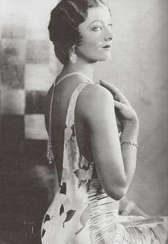 1930s backless beauty.