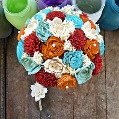 Hey, I found this really awesome Etsy listing at http://www.etsy.com/listing/166756874/natural-wedding-bouquet-large-bright