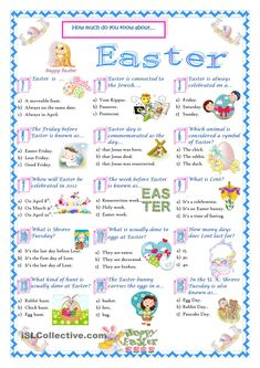 Easter-Quiz