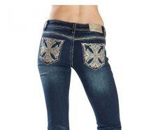 GRACE IN LA Cheap Sale Mid Rise Easy Bootcut Stretch Jean 28 X 34 DON'T MISS ME #GraceInLA #BootCut