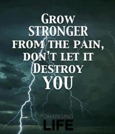 This is hard to comprehend or imagine when your in so much pain BUT it can be done and it helps....you can grow stronger and better from it.  Rheumatoid Arthritis & Fibromyalgia Awareness