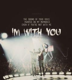 Linkin Park - with you lyrics