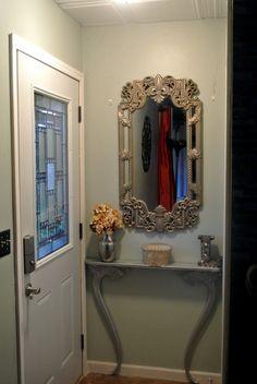 Hometalk :: Re-purposed Antique Mirror Frame