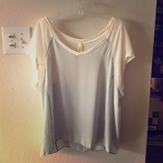 Sheer top In great condition. 100% polyester. Tops Blouses
