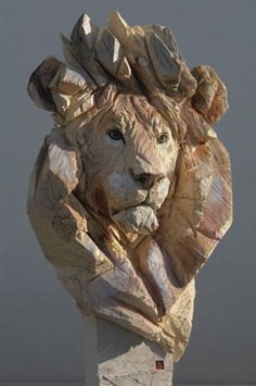 View Buste de lion by Jürgen Lingl Rebetez on artnet. Browse upcoming and past auction lots by Jürgen Lingl Rebetez. Lion, Animal Sculptures, Wood Sculpture, Oeuvre D'art, Wood Art, Original Artwork, Opera, Chainsaw Carvings, Wood Carvings