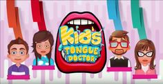 #TongueDoctorGame Play this exclusive #ToddlerGame and make the kids happy by giving proper treatment to their #Tongue.