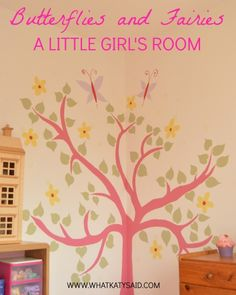 Take a look at my little girl's new bedroom. Hopefully there are some ideas for you!