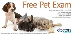 Do you have #pets? Check out this great featured #deal from Los Alamitos #Animal Hospital!  http://www.alamitosanimalhospital.com    Clink on the link below now to access this coupon!  http://www.doctorscoupons.com/coupon/1472/free_exam