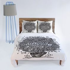 DENY Designs Julia Da Rocha Bouquet Of Flowers Duvet Cover, King by DENY Designs, http://www.amazon.com/dp/B008AJLUXO/ref=cm_sw_r_pi_dp_IrMhsb0CFE17B