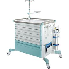 Emergency Trolley - Hospital Equipment - Medical Gas System