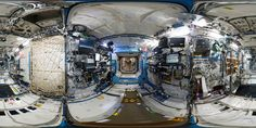https://flic.kr/p/FNisgG | Space Station 360: Destiny lab | Explore NASA's space laboratory for the International Space Station from every angle in this panorama.  This 360° panorama lets you explore the International Space Station's fourth module, Destiny. Launched on 7 February 2001 on Space Shuttle Atlantis, the American module is the heart of the non-Russian part of the Station according to ESA astronaut Samantha Cristoforetti (who took the pictures to create this view). The module…