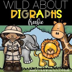 It's time to get WILD about digraphs! This FREE little mini-packet of activities focuses on SH, TH, CH, and WH. There are multiple activities ranging from cut/paste, writing, reading, and sorting. Enjoy :)