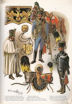 NAP- Austria: Austrian Hussars by Patrice Courcelle. Army History, European History, Military Units, Military Art, Austrian Empire, German Uniforms, War Of 1812, Austro Hungarian, French Revolution