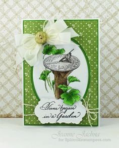 MIM1013 Time In A Garden Fussy by akeptlife - Cards and Paper Crafts at Splitcoaststampers