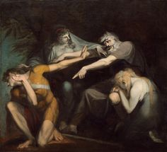 Oedipus cursing his son, Polynices Henry Fuseli 1786