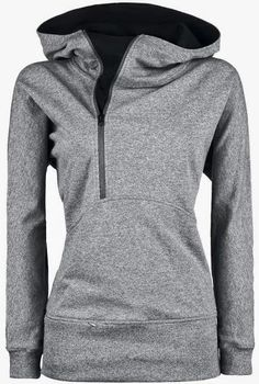 Open Face Side Zip North Face Hoodie, this looks so cute and comfy! Great for a casual day Grey Hoodie, Zip Hoodie, Basic Hoodie, Hoodie Jacket, Looks Style, Style Me, North Face Hoodie, Modelos Plus Size, Grey Zip Ups