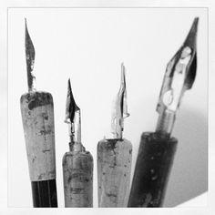 calligraphy pens - FashionFilmsNYC.com