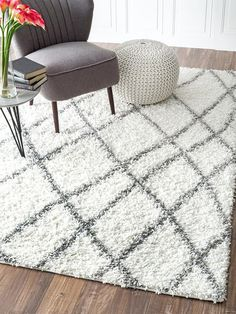 Alvera Easy Shag by nuLOOM at Gilt Shag Rugs, Buy Rugs, Moroccan, Contemporary