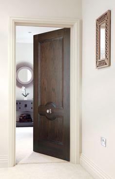 Classic two panelled walnut internal doors pure luxury jb kinds santorini walnut bespoke door walnut doorsinternal planetlyrics Images